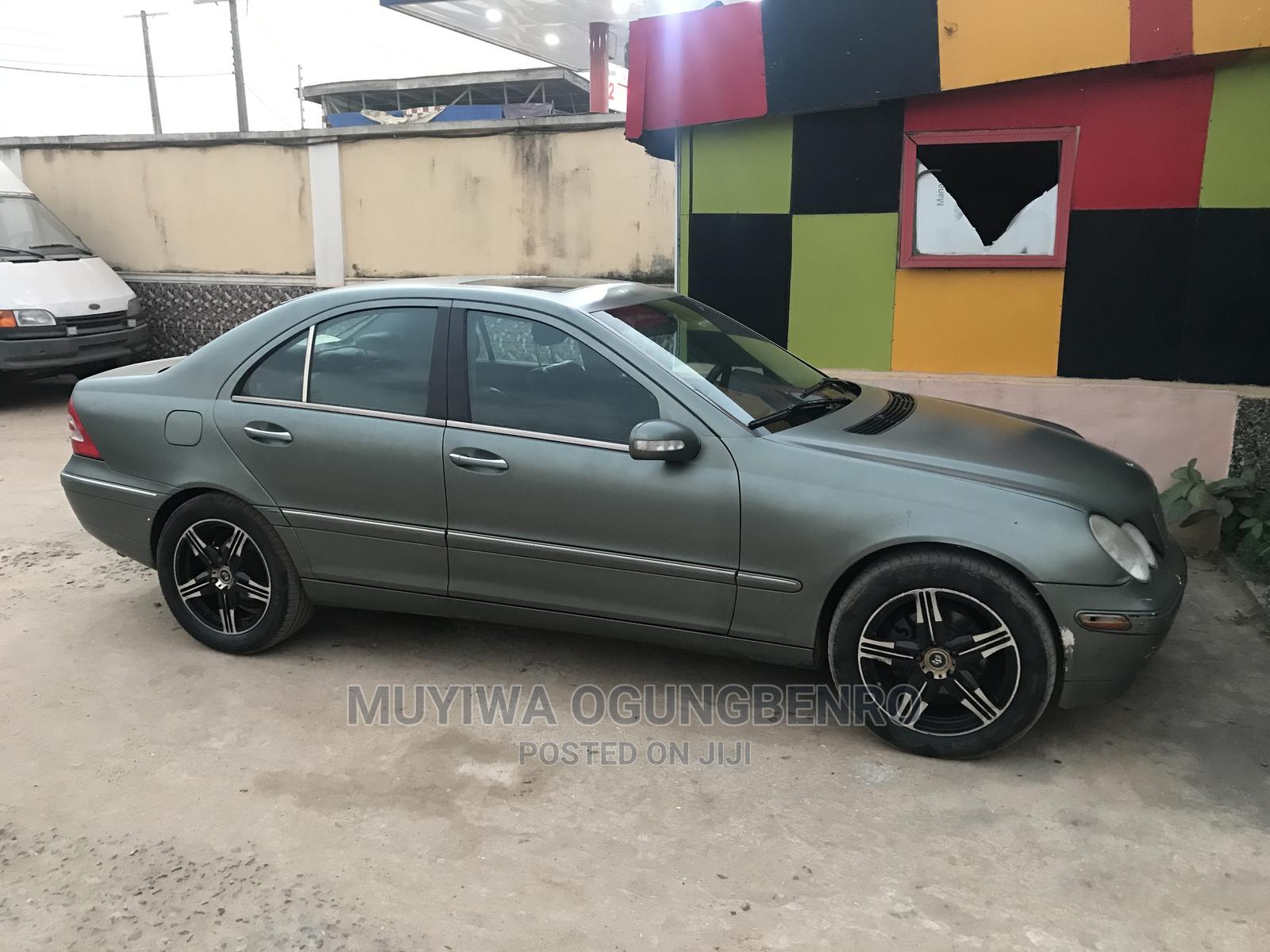 Mercedes-Benz C240 2004 Green   Cars for sale in Ikeja, Lagos State, Nigeria