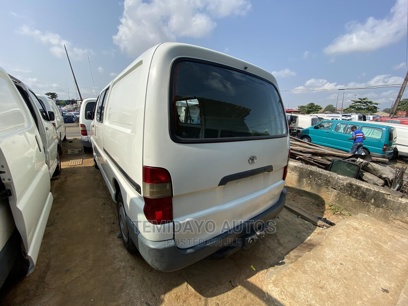 Toyota Haice Bus Long Container   Buses & Microbuses for sale in Apapa, Lagos State, Nigeria