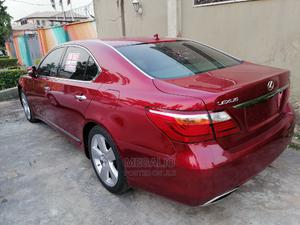 Lexus LS 2010 460 Red   Cars for sale in Lagos State, Ikeja