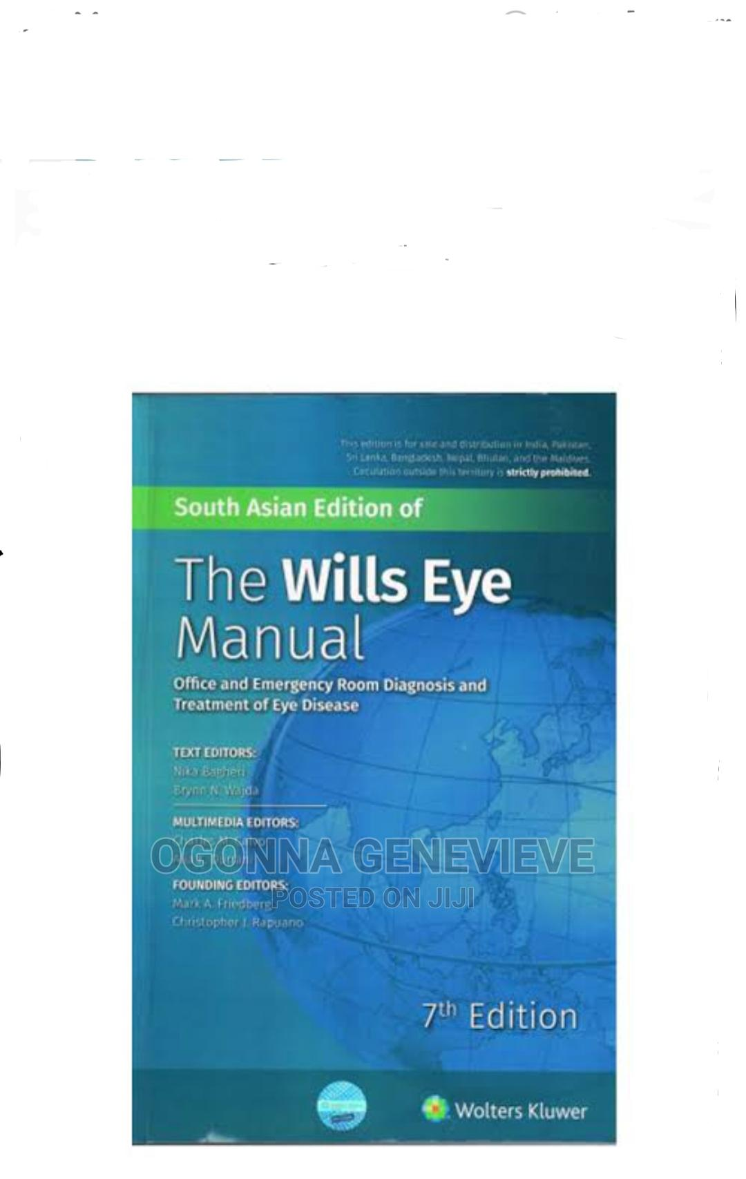 The Wills Eyes Manual 7th Edition