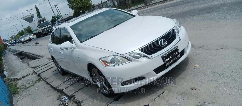 Lexus GS 2009 350 4WD White