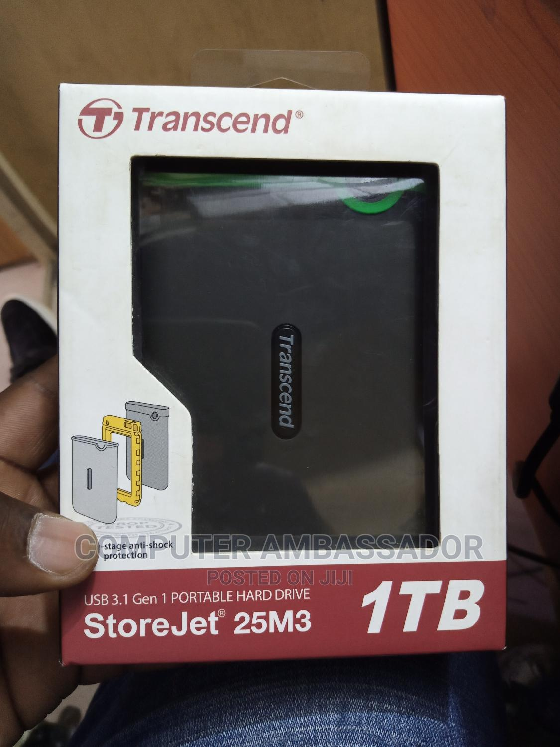 Itb Transcend HDD | Computer Hardware for sale in Wuse 2, Abuja (FCT) State, Nigeria