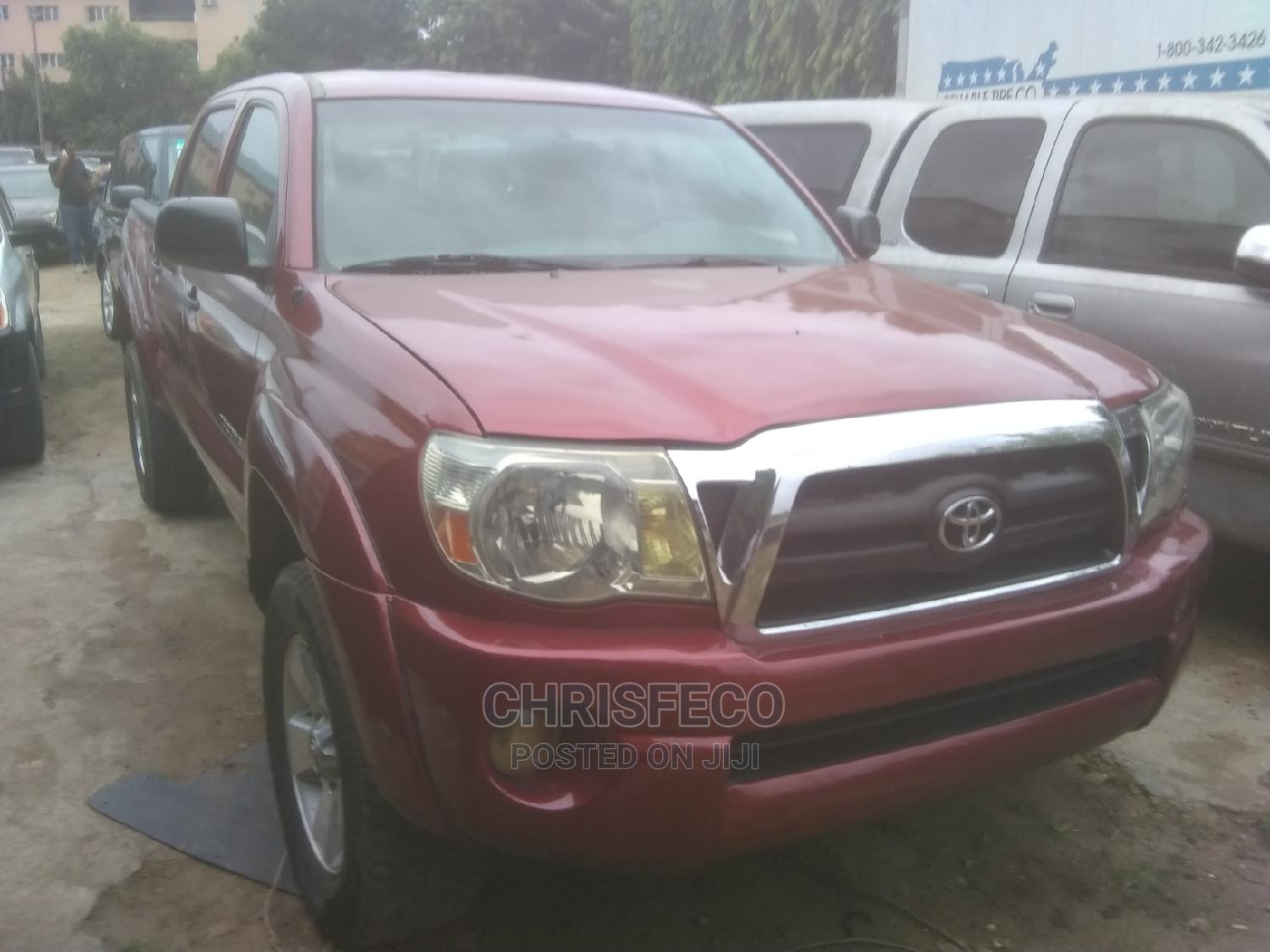 Toyota Tacoma 2006 Red | Cars for sale in Ikeja, Lagos State, Nigeria