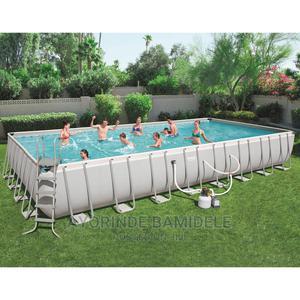 31X16X4.3feet Bestway Power Steel Swimming Pool   Sports Equipment for sale in Lagos State, Lagos Island (Eko)