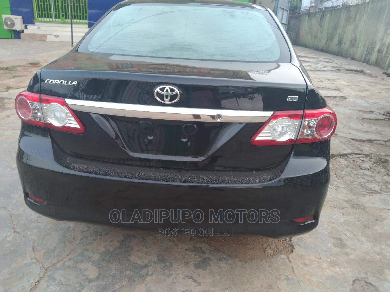 Toyota Corolla 2012 Black