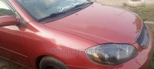 Toyota Corolla 2003 Sedan Red   Cars for sale in Lagos State, Alimosho