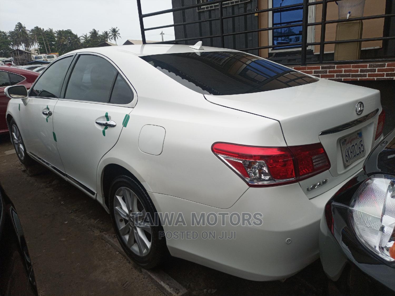 Lexus ES 2011 350 White   Cars for sale in Apapa, Lagos State, Nigeria