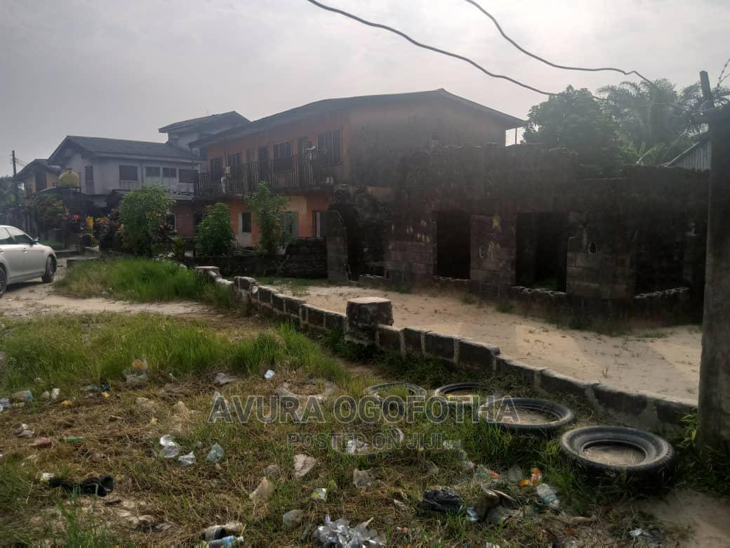 Land and Uncompleted Building for Sale