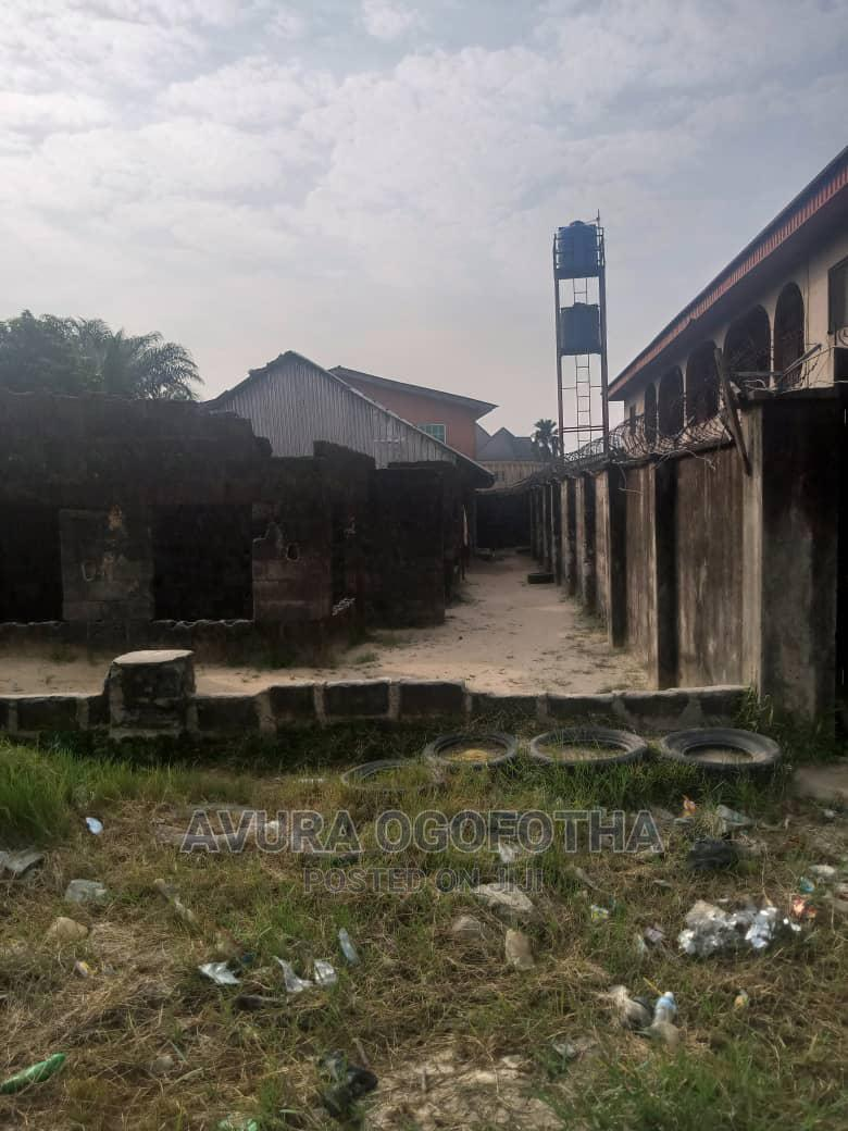 Land and Uncompleted Building for Sale | Land & Plots For Sale for sale in Warri, Delta State, Nigeria