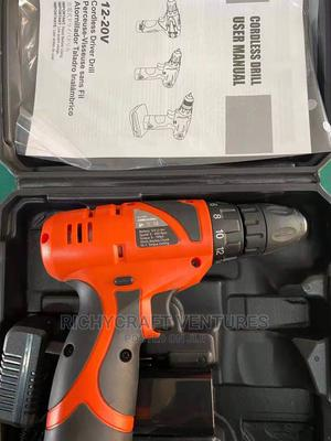 12v Screwing Machine Cordless Drill   Electrical Hand Tools for sale in Abuja (FCT) State, Asokoro