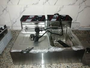Electric Deep Fryer Double Basket | Restaurant & Catering Equipment for sale in Abuja (FCT) State, Kaura