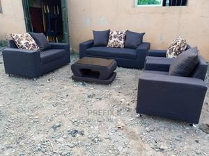 7 Seaters Sofa Chairs With Table. Fabric Couch | Furniture for sale in Lagos State, Ikeja