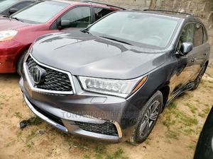 Acura MDX 2017 W/Advance Pkg SH-AWD Gray   Cars for sale in Lagos State, Amuwo-Odofin