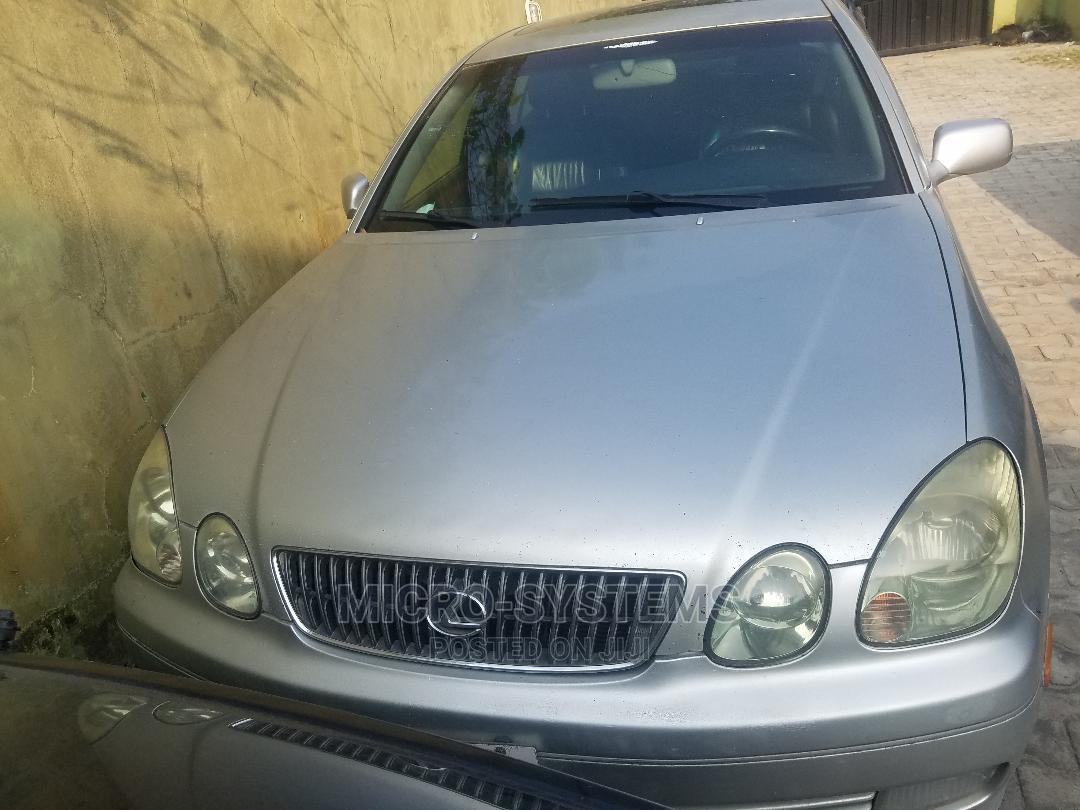 Lexus GS 2003 Silver