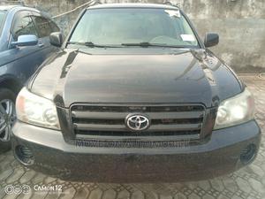 Toyota Highlander 2005 V6 4x4 Black   Cars for sale in Lagos State, Amuwo-Odofin