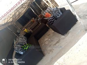 L Shape Sofa With Single   Furniture for sale in Lagos State, Ikeja