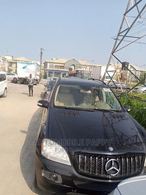 Mercedes-Benz M Class 2007 ML 350 4Matic Black | Cars for sale in Lagos State, Victoria Island