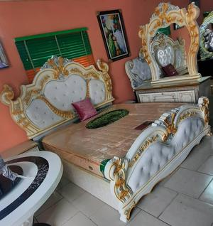 Classic Royal Bed Size 6 by 7   Furniture for sale in Lagos State, Lekki