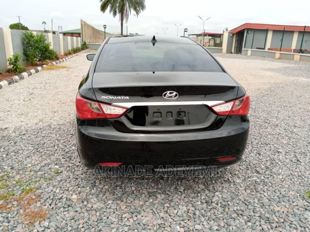 Hyundai Sonata 2012 Black   Cars for sale in Ibadan, Oyo State, Nigeria