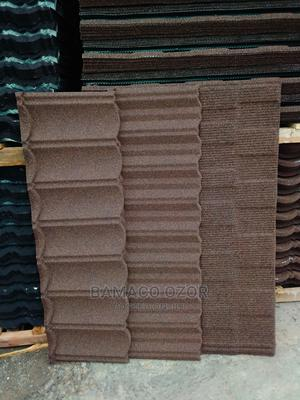 Cofee Brown Stone Coated Tiles   Building Materials for sale in Lagos State, Ikeja
