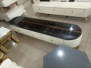 Imported Classic Marble Centre Table and Tv Stand   Furniture for sale in Lagos State, Ojo