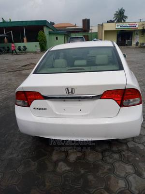 Honda Civic 2010 White | Cars for sale in Lagos State, Ajah