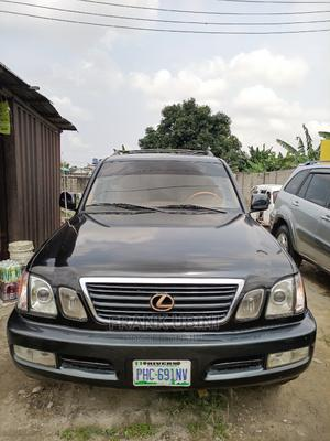 Lexus LX 2004 470 Sport Utility Black   Cars for sale in Rivers State, Obio-Akpor