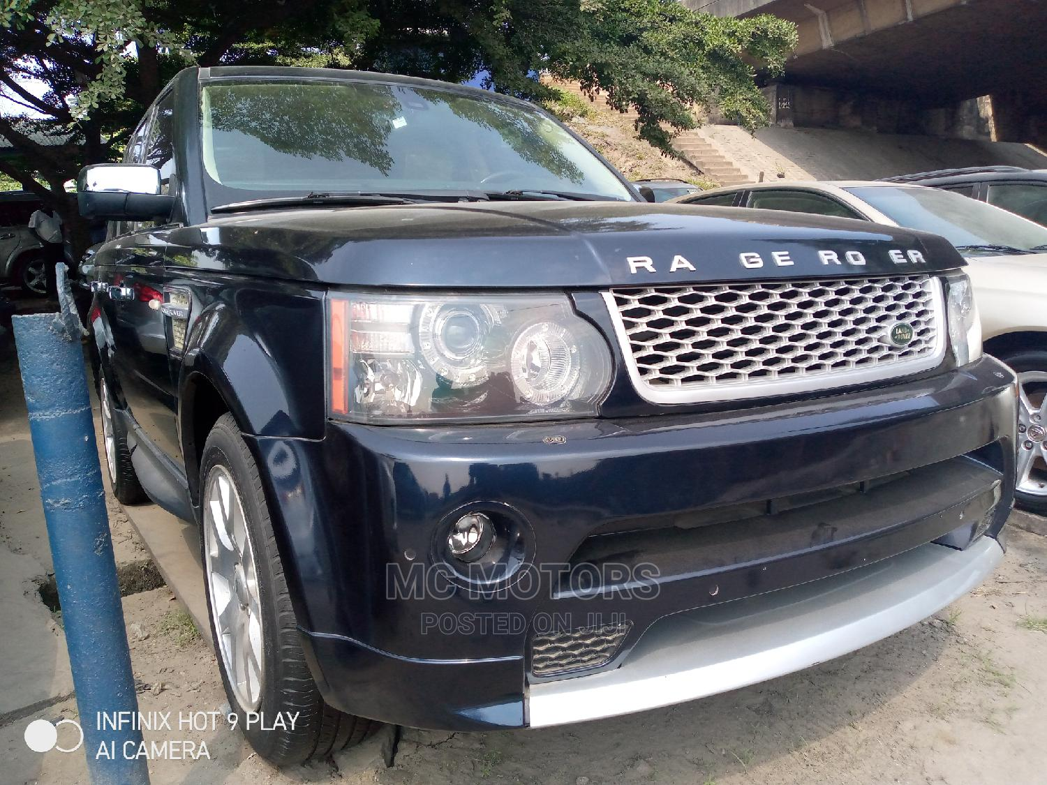 Archive: Land Rover Range Rover Sport 2012 HSE 4x4 (5.0L 8cyl 6A) Blue