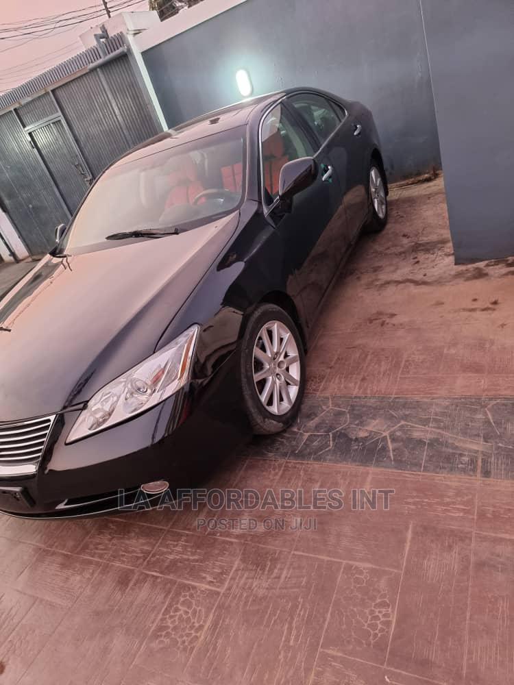 Archive: Lexus ES 2008 350 Black