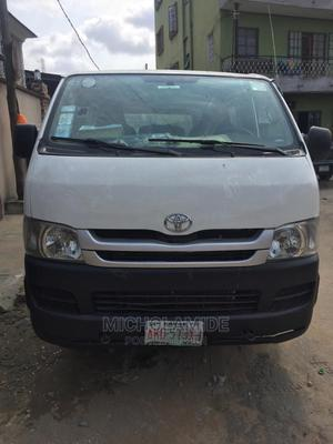 Very Neat Toyota Hiace 2008 White | Buses & Microbuses for sale in Lagos State, Ikeja