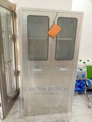 Commonly Used Stainless Steel Hospital Instrument Trolley   Medical Supplies & Equipment for sale in Rivers State, Port-Harcourt