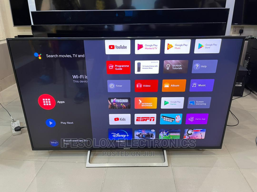 55 Inch Sony Android Smart 4K HDR LED TV - London Used