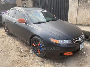 Acura TSX 2007 Automatic Black | Cars for sale in Lagos State, Surulere