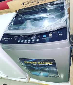 Maxi Washing Machine Automatic 10kg   Home Appliances for sale in Lagos State, Ojo
