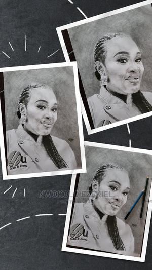 Charcoal Pencil Art Work   Arts & Crafts for sale in Lagos State, Ibeju