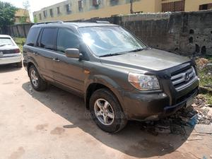 Honda Pilot 2006 EX-L 4x4 (3.5L 6cyl 5A) Green | Cars for sale in Lagos State, Isolo