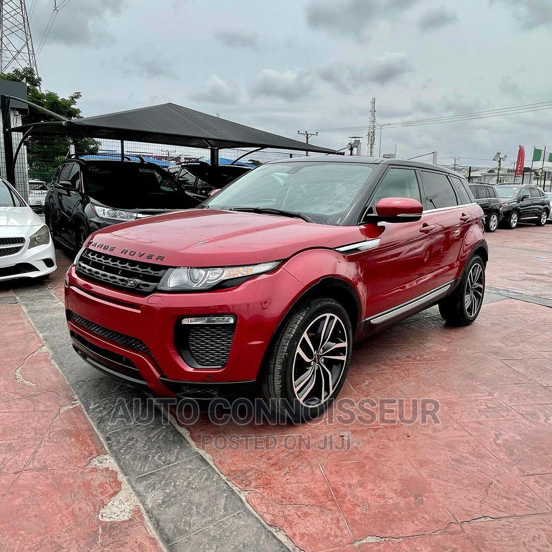 Archive: Land Rover Range Rover Evoque 2012 Red