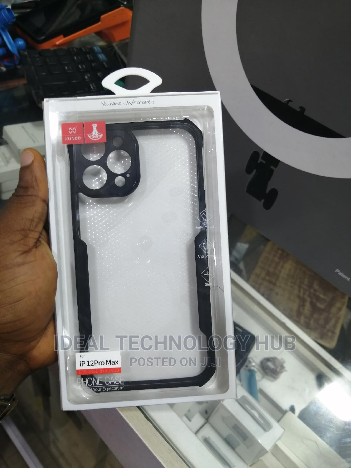 Xundd Back Case for iPhone 12 Pro Max