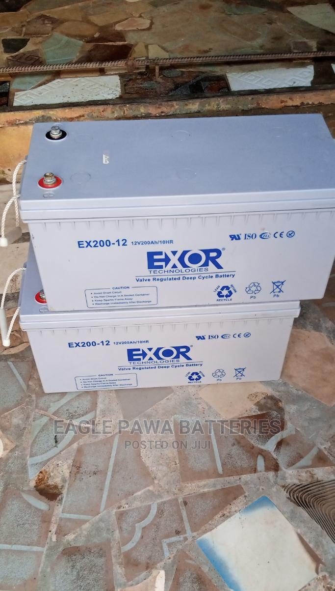 Exor Inverter Battery 200ah
