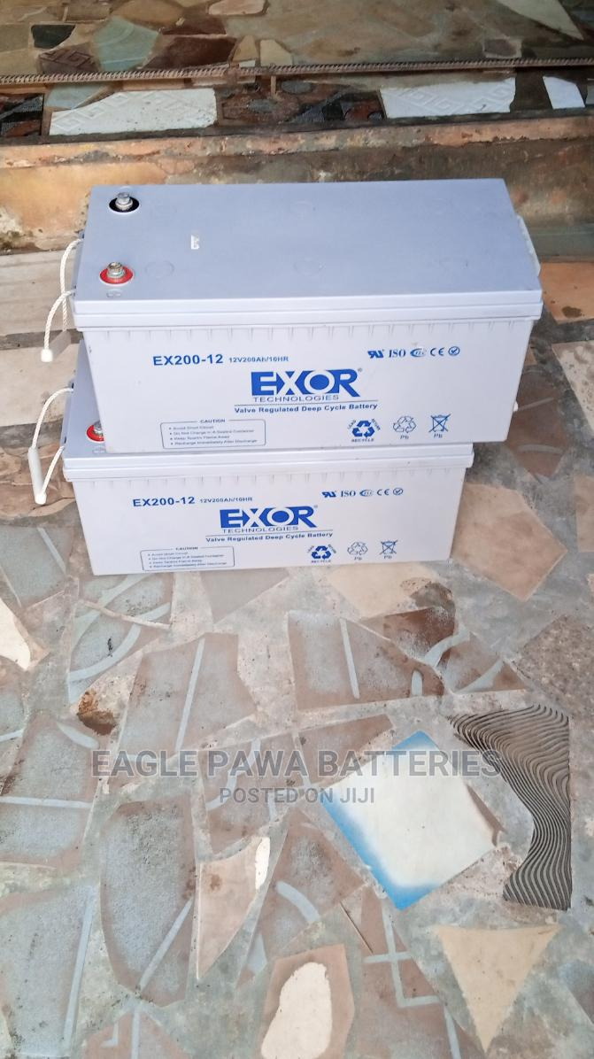 Exor Inverter Battery 200ah | Vehicle Parts & Accessories for sale in Maryland, Lagos State, Nigeria
