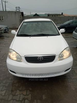 Toyota Corolla 2005 CE White | Cars for sale in Lagos State, Surulere