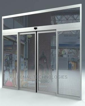 Sensor Automatic Sliding Glass Door in Abuja and Nigeria   Doors for sale in Abuja (FCT) State, Central Business District
