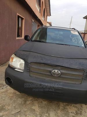 Toyota Highlander 2006 Black | Cars for sale in Lagos State, Ikeja