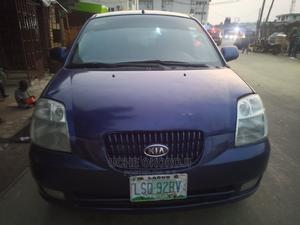 Kia Picanto 2008 1.1 Automatic Blue | Cars for sale in Lagos State, Ikeja
