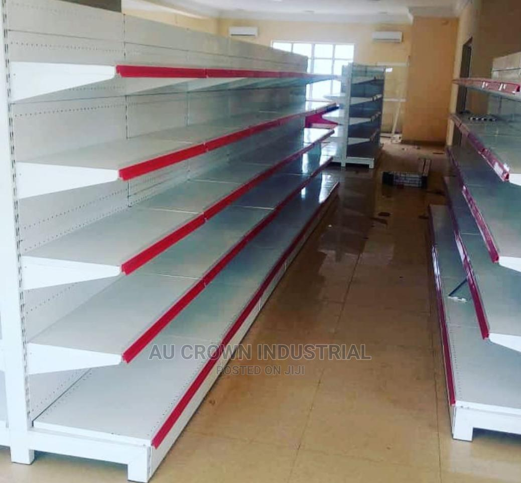 Single Side Supermarket Shelf