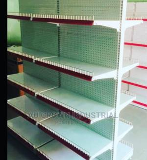 Quality Double Sided Supermarket Shelf | Store Equipment for sale in Lagos State, Victoria Island