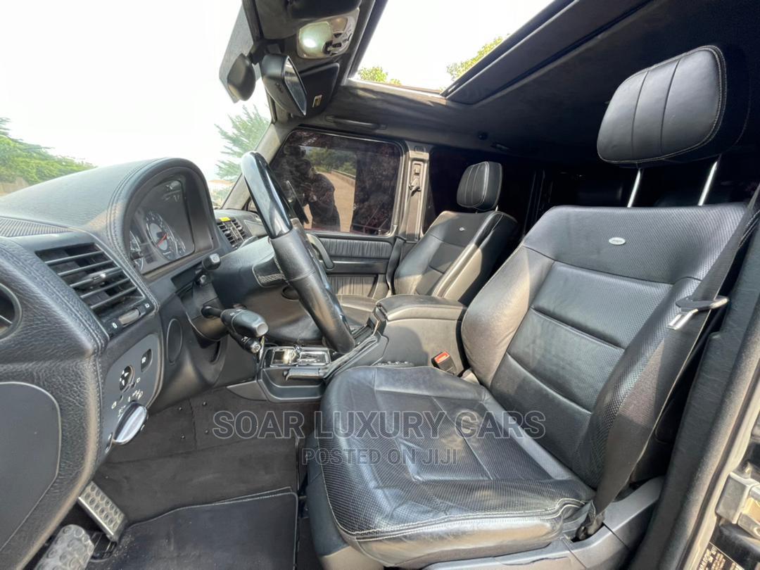 Archive: Mercedes-Benz G-Class 2011 Black