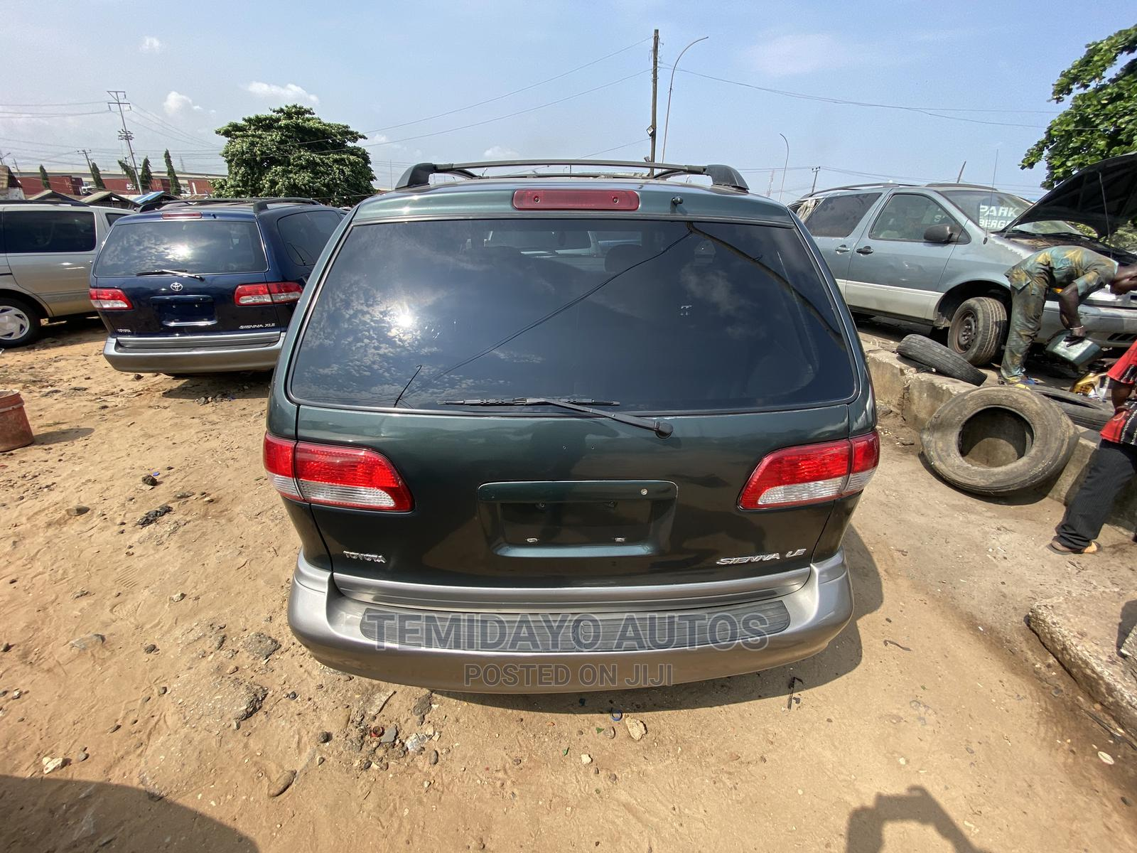 Toyota Sienna 2003 LE Green | Cars for sale in Apapa, Lagos State, Nigeria