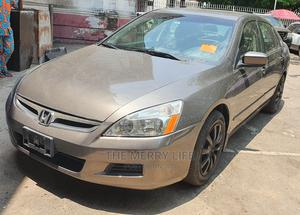 Honda Accord 2007 Sedan LX SE Automatic Gray | Cars for sale in Lagos State, Lagos Island (Eko)