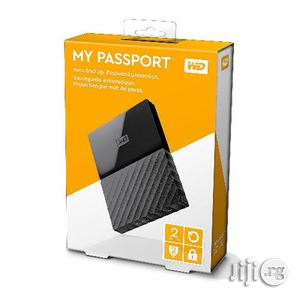 WD 2TB My Passport Portable USB 3.0 External Hard Drive | Computer Hardware for sale in Lagos State, Ikeja